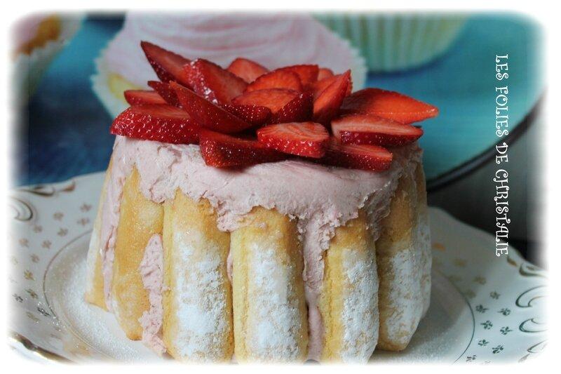 Charlotte aux fraises 1