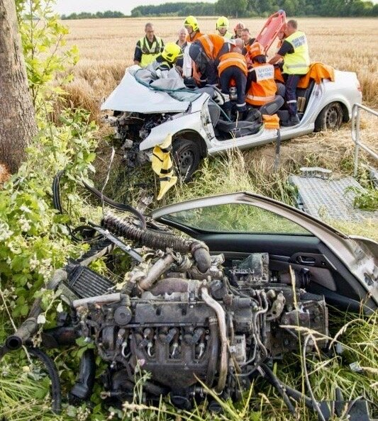 ACCIDENT CLAUDE MARTIN 2017 VILLIERS moteur