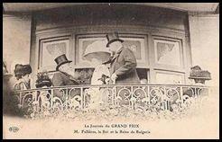 Fallieres grand prix 1910 souverains bulgares