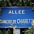 Jallais (49), allée François de Charette