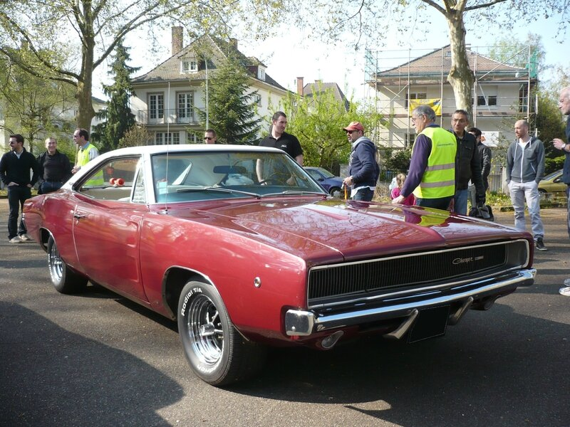 DODGE Charger 2door hardtop 1968 Strasbourg (1)