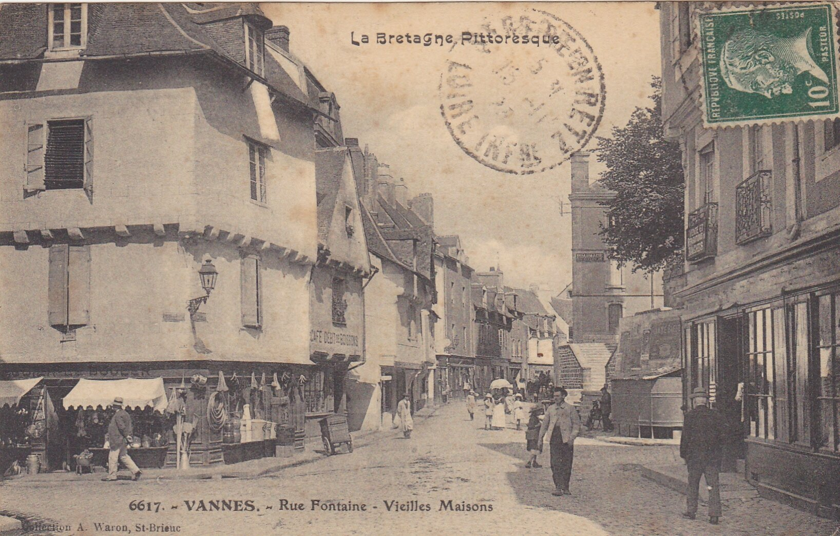 Carte postale ancienne vannes antiquit s du vingti me for O architecture brest
