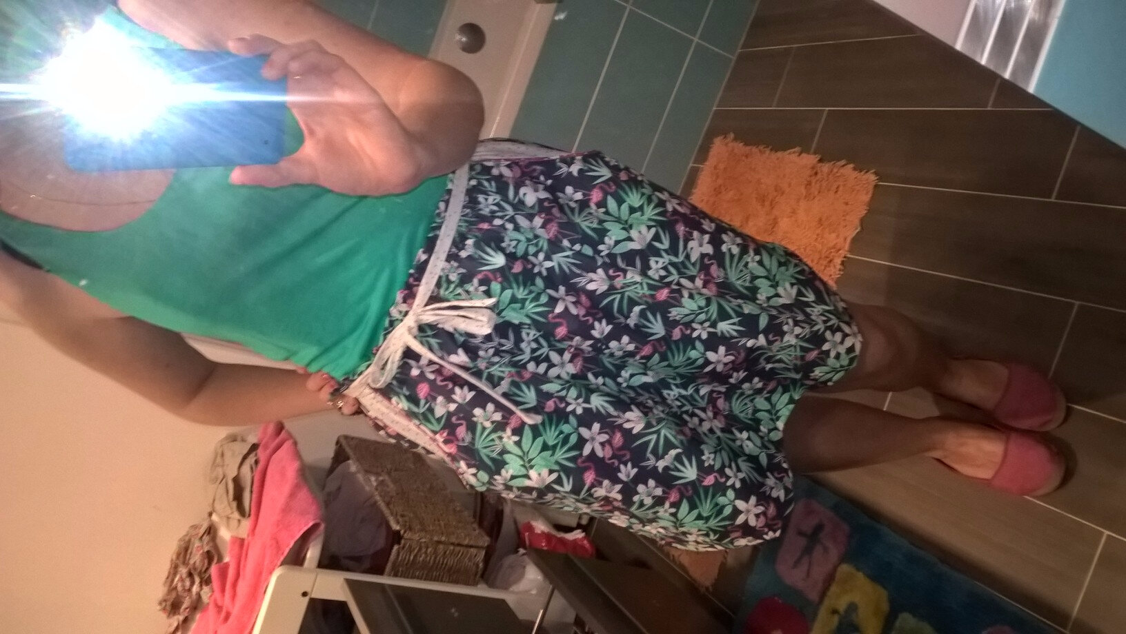 Couture d'été jupe taille haute 1 ere