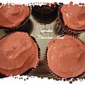 Cupcakes chocolat-anis