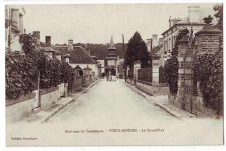 60 - VIEUX MOULIN - La Grand Rue