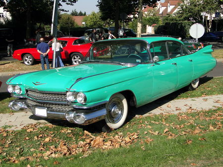 CADILLAC Series 62 6window Hardtop Sedan 1959 A la Recherche des Autos Perdues Guermantes 2009 1