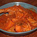 Mafe de poulet aux patates douces