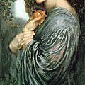 La déesse perséphone en automne