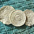 Disques à démaquiller coton