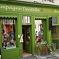 Campagne dentelle & roux doudou honfleur calvados mode vintage