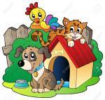 10780695-Trois-illustration-animaux-domestiques--Banque-d'images