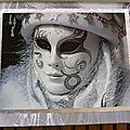 Venise -11- masque argenté