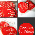 *** COOKIES ST VALENTIN ***