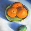 Oranges et citron vert