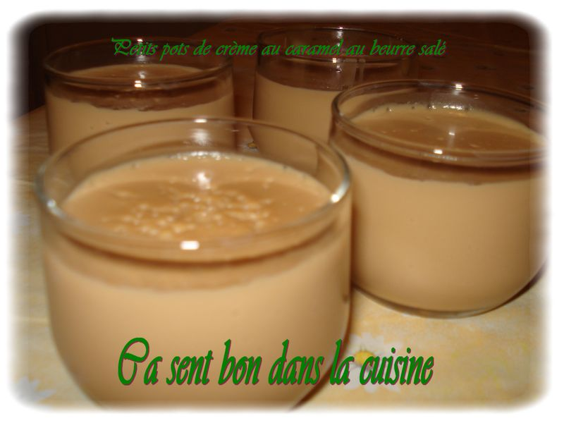 petits pots de cr 232 me au caramel au beurre sal 233 thermomix 199 a sent bon dans la cuisine