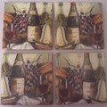 Bouteilles de vin - Wine bottle coasters