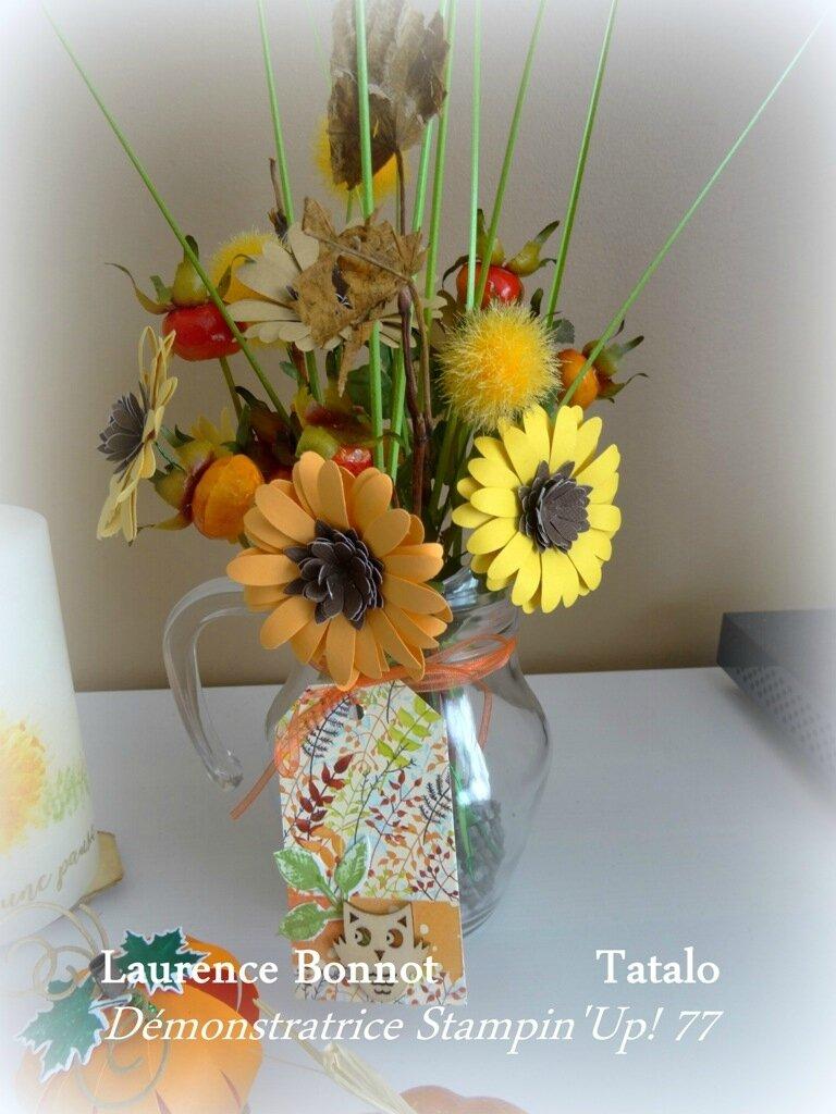 Vase aux couleurs d'automne