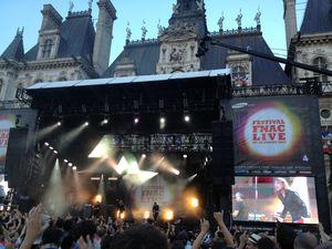 Paris Plage 2013, concerts gratuits fnac, hotel de ville, Cali