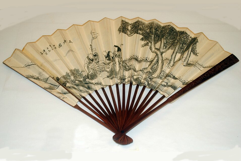 Morris Museum presents new exhibition on the handheld fan