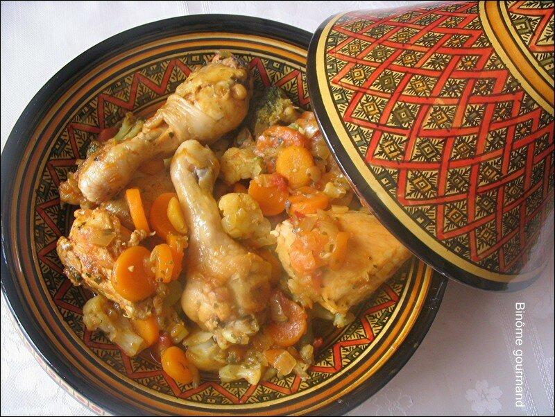 Tajine de poulet aux oignons et la menthe bin me gourmand - Plat a tajine pour induction ...