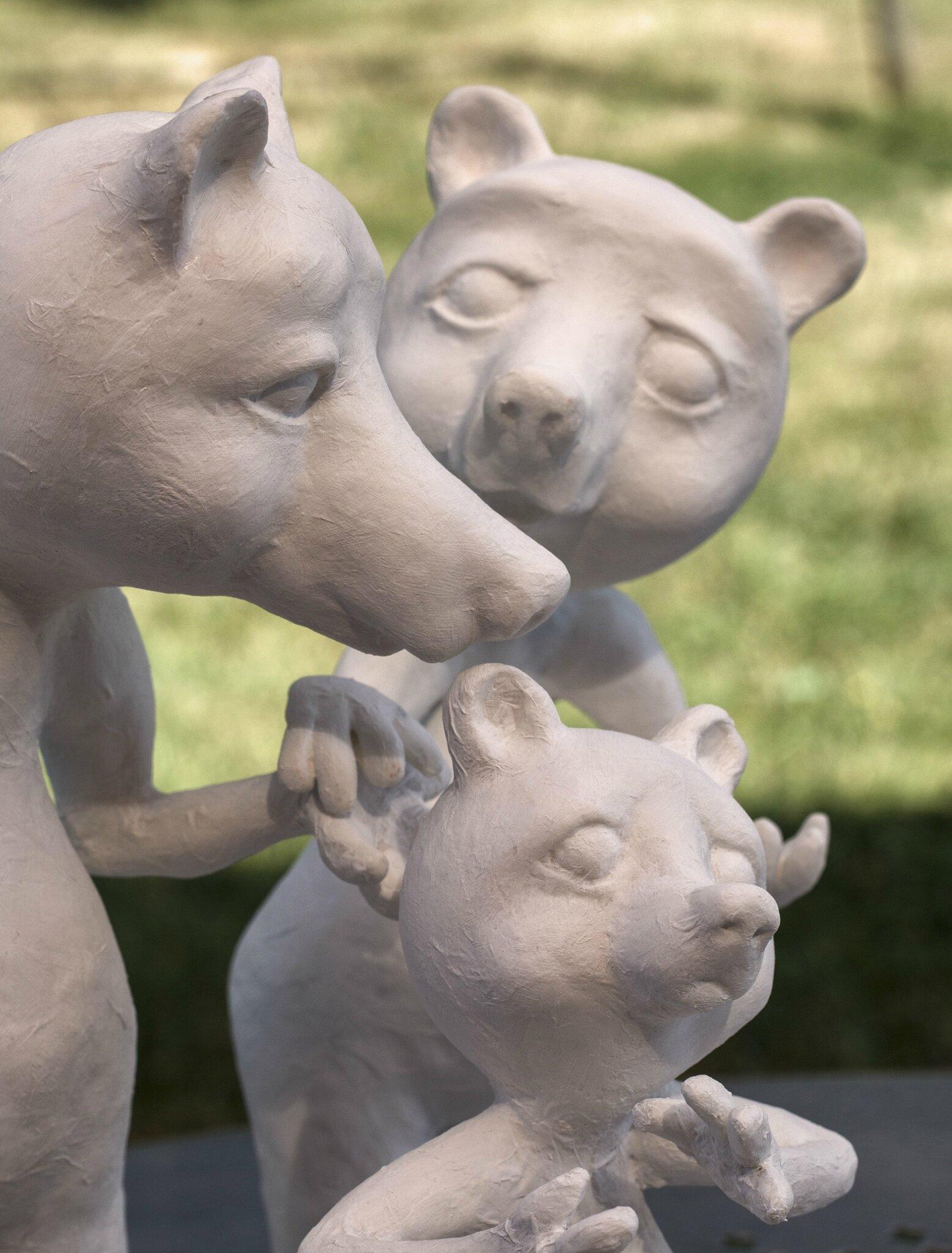 Bears2_papiermache_alinepallaro_2017