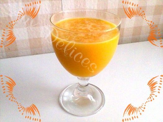 Mon smoothie mangue/orange