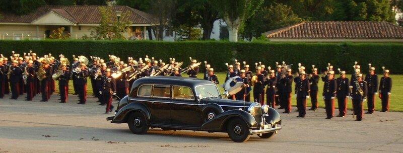 Mercedes 770 w150 survivantes (XI) : Pullman Limousine du Général Franco 110230675