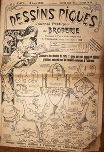Dessins piqués n° 271 - 15 avril 1923 (1)