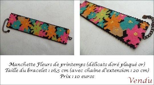 manchette_fleurs_de_printemps_vendu