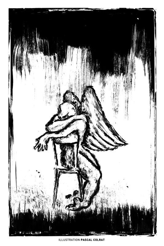 le repos de l'ange BD