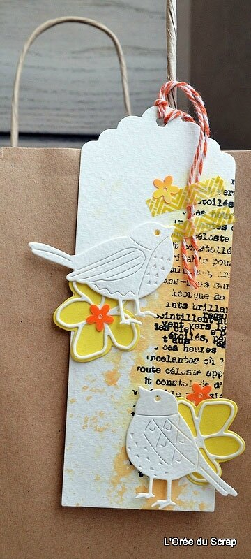 tag scrapbooking marque pages