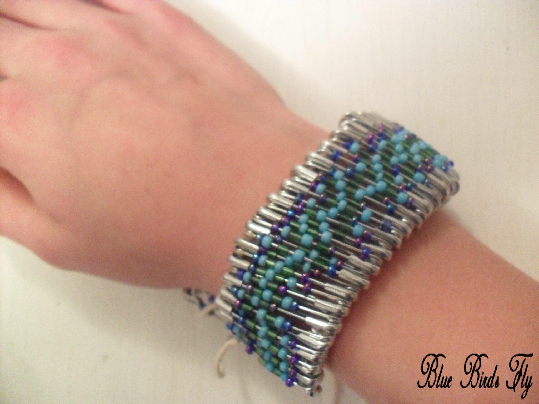 39 39 bracelet original 39 39 blue birds fly. Black Bedroom Furniture Sets. Home Design Ideas