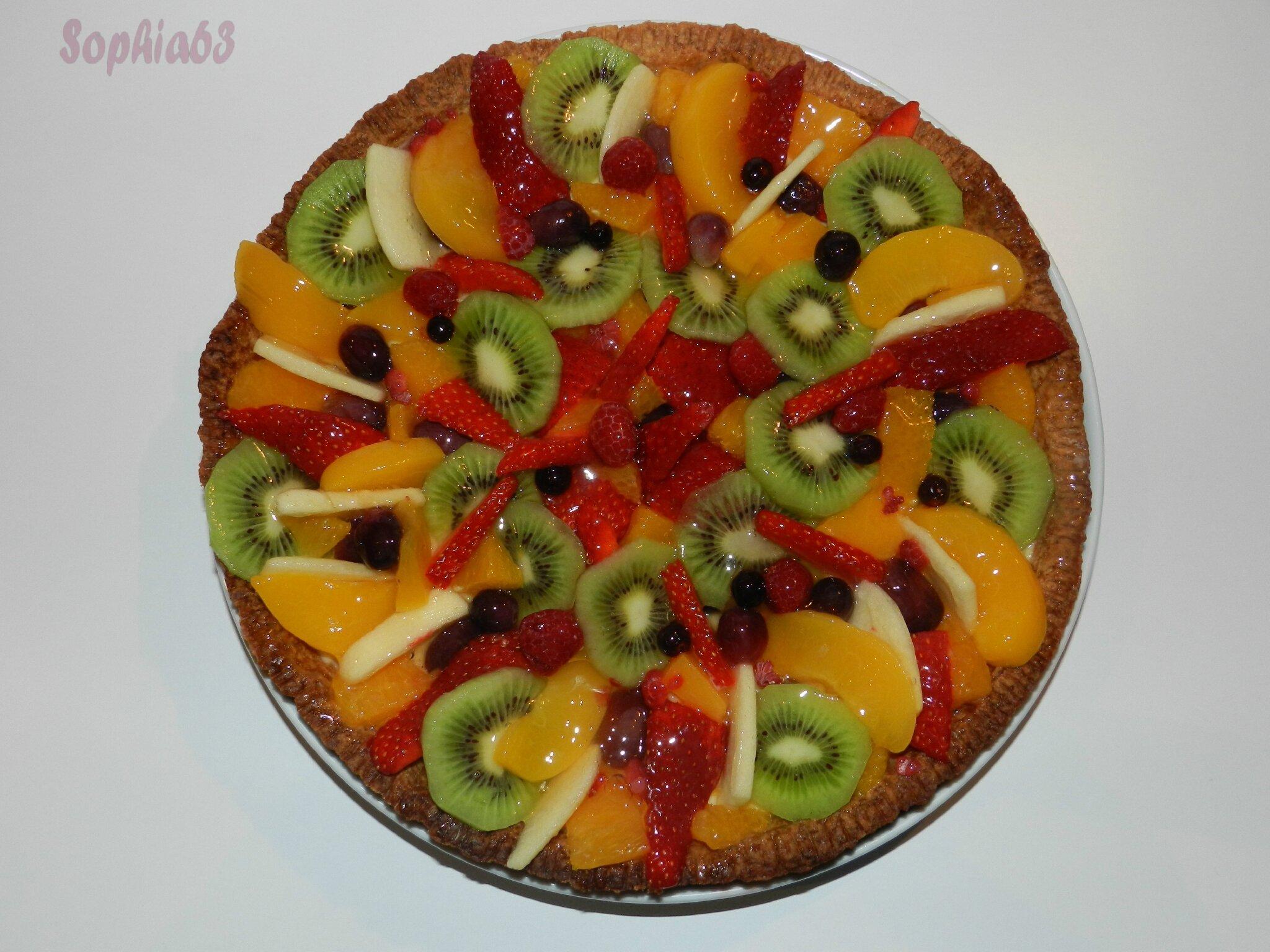 Gateau au sirop de fruit