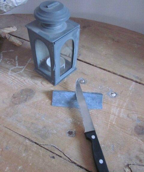 Porte-couteau en zinc (2)