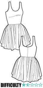 Ralph Pink - Skater Dress