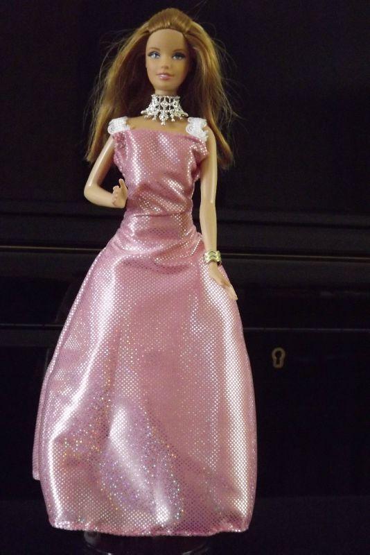 amandine robe rose argenté (2)