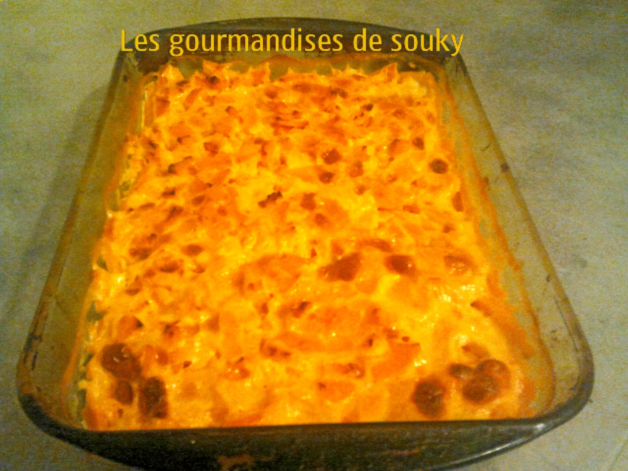 gratin dauphinois de patate douce cr me aromatis au curry et miel les gourmandises de souky. Black Bedroom Furniture Sets. Home Design Ideas