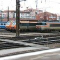Dépôt de Toulouse Matabiau, locomotives BB 7200, BB 26 000