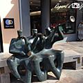 Sculpture en scène à thuir...