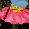 21 Parasol fleur, nécessaire dans le décor !