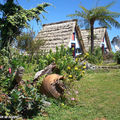 Le joli jardinet des Maisonnettes de Santana