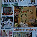 Magazine pont de croix ouvrages broderie
