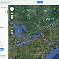 Canada & east coast trip... le parcours !