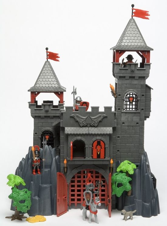 Plan ch teau playmobil dragon rouge for Plan chateau fort playmobil
