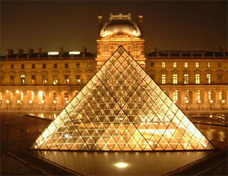 Le secret des 5 pyramides du louvre rusty james news - Inauguration pyramide du louvre ...
