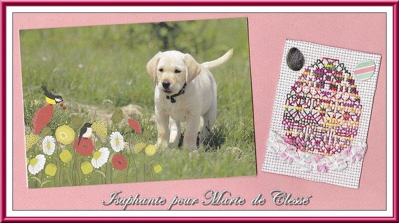Échange ATC Perso (Pâques) Isaphanie pour Marie de Clessé 2