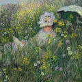 Claude monet's dans la prairie highlights christie's auction of impressionist and modern art