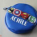 Porte monnaie super-héros...