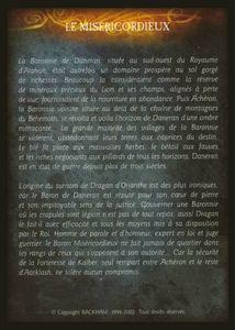 Dragan d'Orianthe - le misericordieux