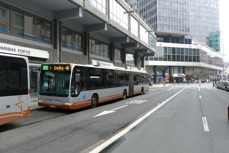Bruxelles milite pour la tramification du 71 - Bus lyon nancy ...